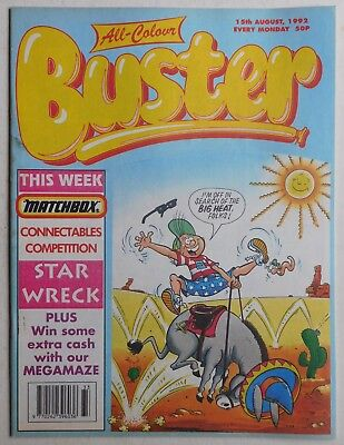 BUSTER COMIC - 15th August 1992