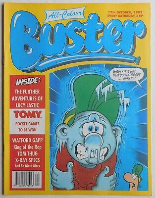 BUSTER COMIC - 17th October 1992