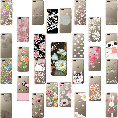 New Slim Design TPU Silicone Back transparent Case Cover For One Plus 2 3 3T 5 X
