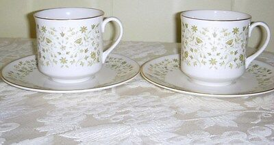 2  Royal Doulton Westfield Cup & Saucer Sets