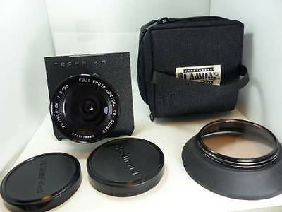 (EXCELLENT) Fuji Fujinon SW 90mm F8 4×5 Lens Pro from JAPAN