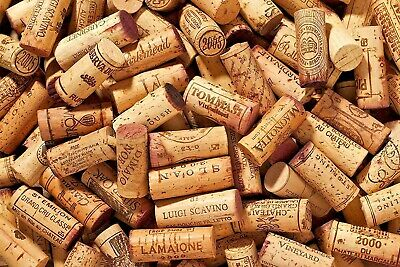 1,000 Used / Recycled Wine Corks from Europe, Premium brands in great Condition!