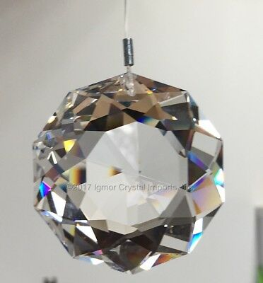 SWAROVSKI CRYSTAL 8950-0051*38MM* Clear DAHLIA Sun Catcher Prism STRASS