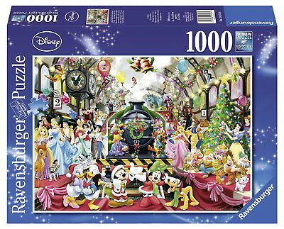 Bight and Colourful Disney Jigsaw Puzzle Ravensburger 1000 Piece Cardboard Toy