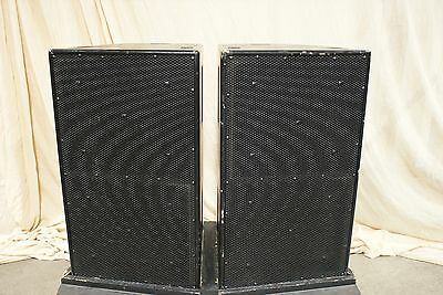 """1 Pair EAW Eastern Acoustic Works SB600e Dual 15"""" Subwoofer"""