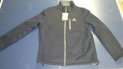 NEW With Tags Gerry Men's Sweater Fleece Jacket XL Navy Blue Nocturne 1047676