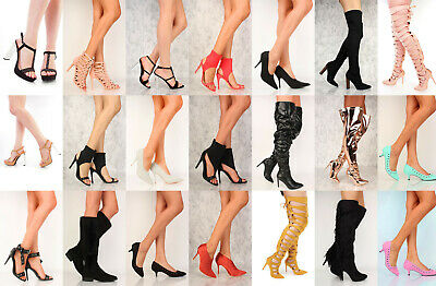 RX1 NIB 50 Womens Wholesale Lot Mix High Heel Platform Evening Pump Sandal Shoes
