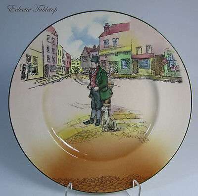 Royal Doulton Dickens Ware Bill Sykes Plate D6327 10.5""