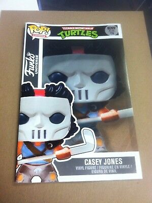 Teenage Mutant Ninja Turtles #74 Yesteryear Casey Jones Pop Funko cover variant.