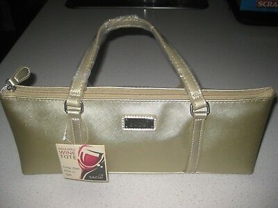 New Sachi Wine Tote Champagne Gold insulated cooler with strap - Brand new