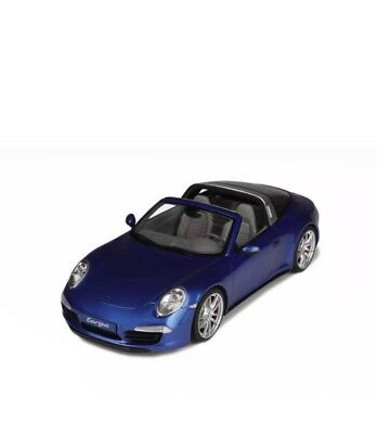 New 1/18 GT Spirit Porsche 911(991) Targa 4S Blue 1500pcs