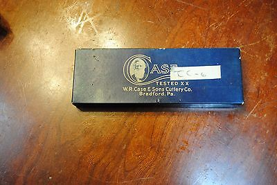 Vintage (1920 - 1960) Case Tested XX Era Knife Box – Empty blue box