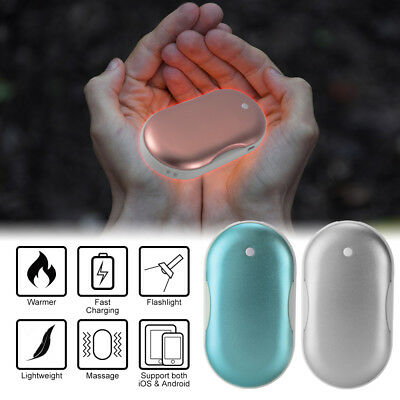 5000mAh Heater Hand Warmer Electric Rechargeable Phone Power Bank Charger DE