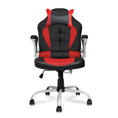 Gaming Chair Racing Recline Leather Computer Executive Office Ergonomic Armchair
