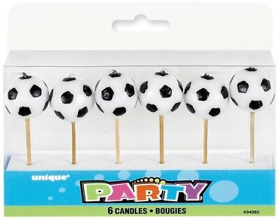 SOCCER BALL PICK CANDLES me