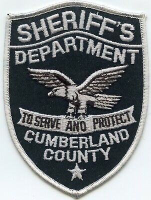 OLD CUMBERLAND COUNTY NEW JERSEY NJ To Serve And Protect SHERIFF POLICE  PATCH