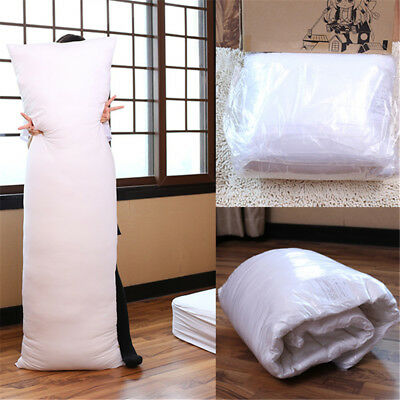 150 x 50cm Anime Dakimakura Hugging Long Pillow Inner Body Cushion White AU