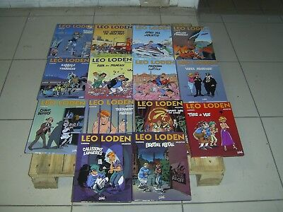 Leo Loden Tome 1.2.3.4.5.6.7.8.9.10.11 .12.13.14   Editions Soleil