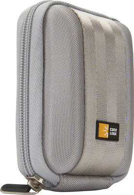 Case Logic QPB-201 Camera Case EVA Shell And Soft Interior With Pockets Grey