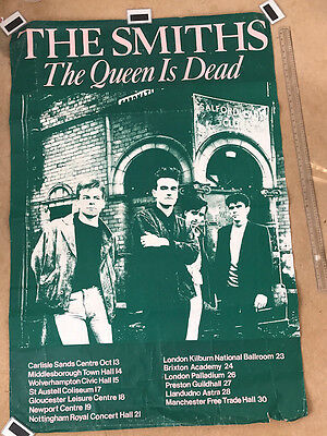 The Smith The Queen is Dead Tour Poster 1986 (Ex.Rare)
