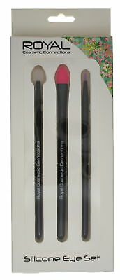 Royal Cosmetic Connections 3 Piece Silicone Eye Applicators Set