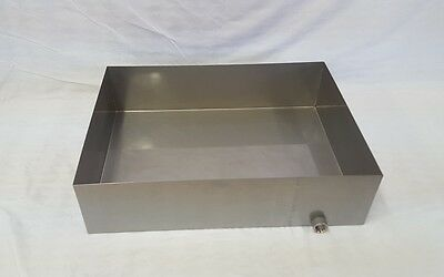 Maple Syrup Boiling Pan 18x24x6 Stainless Steel Sap evaporator tig 18 ga