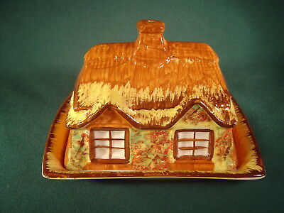 Vintage Price / Kensington Cottage Ware Ceramic Cheese Dish ~ Made in England