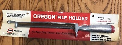 Rare Vintage New In Package Oregon Chainsaw File
