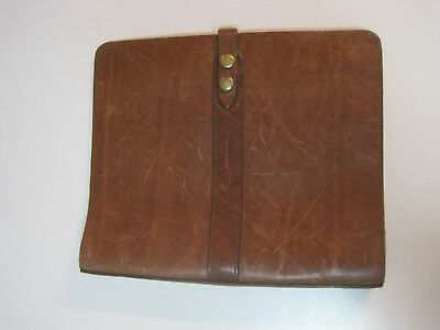 Colonel Littleton No 19 Notebook, very lightly used, perfectly broken in, LOOK