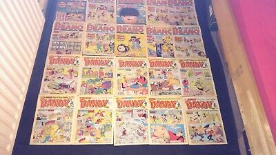 Beano and Dandy Vintage Comic Joblot X 20 1991-1994