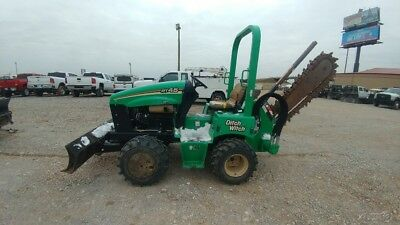 2014 Ditch Witch RT45 RT 45 Riding trencher with blade