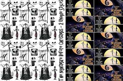 NIGHTMARE BEFORE CHRISTMAS Wrapping Paper, Size A1/A2/A3, Jack Skellington Movie