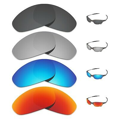 Tintart 4 Pairs Polarized Replacement Lenses for-Oakley Juliet Sunglasses
