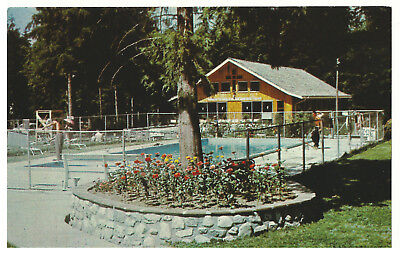 Vintage Postcard - Salvation Army, Miracle Valley Complex Mission City BC Canada