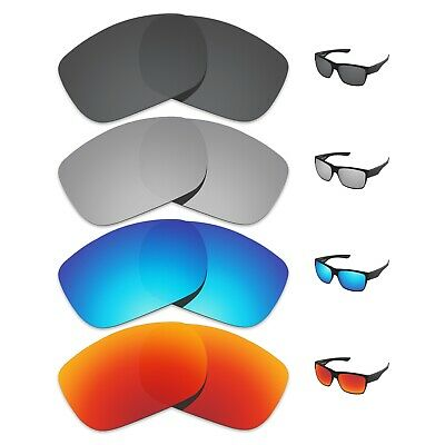 Tintart 4 Pairs Polarized Replacement Lenses for-Oakley TwoFace Sunglasses