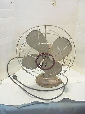 vintage fan westinghouse model 16SD3 wire cage needs work industrial decor