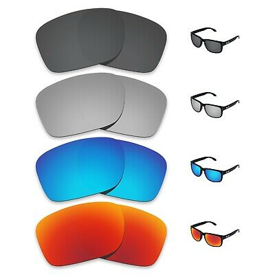 Tintart 4 Pairs Polarized Replacement Lenses for-Oakley Holbrook Sunglasses