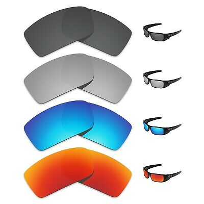 Tintart 4 Pairs Polarized Replacement Lenses for-Oakley Gascan Sunglasses