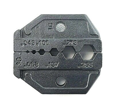 InterchangeableCoax Crimp Tool Die (HT- 336G) for RG58, 59, 62, 174, Fiber Optic