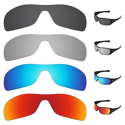 Tintart 4 pieces Polarized Replacement Lenses for-Oakley Antix Sunglasses