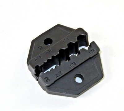 Interchangeable Coax Crimp Tool Die (HT- 3J) for RG174,179,Fiber Optic