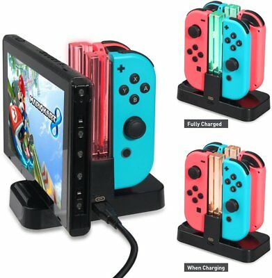 Joy-con Charging Dock Stand Pro Controller Charger Station for Nintendo Switch