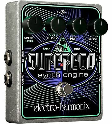 Electro-Harmonix Superego Synth Guitar Effects Pedal
