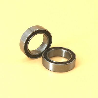 2pcs 6700zz Metal Sealed Deep Groove Radial Ball Bearing 10x15x4mm [CAPT2011]