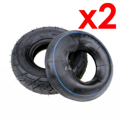 """2 Pack 3.00 - 4"""" tyre with tube tire for electric scooter kids gokart minimoto"""