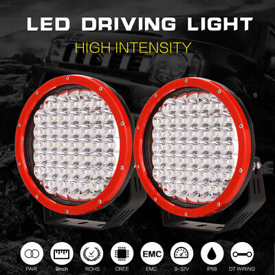 9inch 99999W NEW CREE LED Driving Light Spotlights Work Offroad4x4 HID Truck SUV