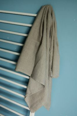 Linen bath sheet, softened linen towel, organic bath towel, sauna towel, beach