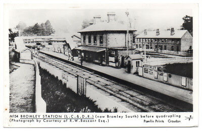 BROMLEY STATION now SOUTH before quadrupling - London Suburbs - Gare