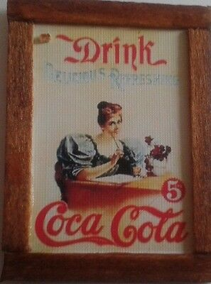 Dolls House very early coca cola advert