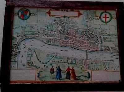 Dolls House An ancient Map of London